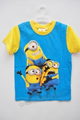 Bluzka Dziecięca Minionki 961-690  _A12  (3-8)